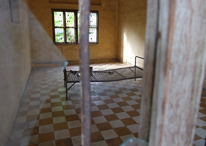 06 12 2017   Tuol Sleng torture cell, Phnom Penh, Cambodia