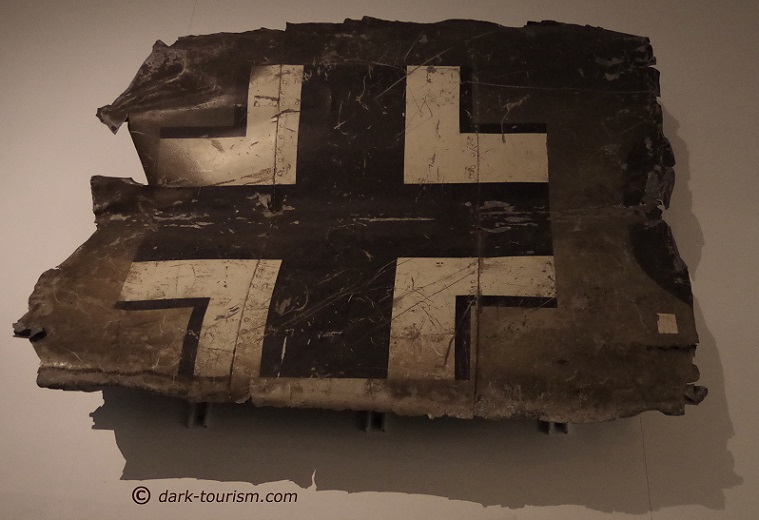 10 05 2017   piece of the plane Rudolf Hess flew to Scotland in