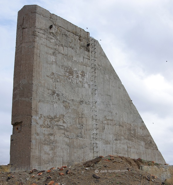 22 11 2017   first Soviet hydrogen bomb test   measuring tower, Polygon, STS, Kazakhstan