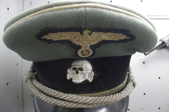 27 09 17   Nazi cap on display at the military history museum in Belgrade