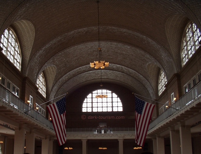 29 01 17   Ellis Island, a reminder of the fact that the USA has a tradition as an immigration country