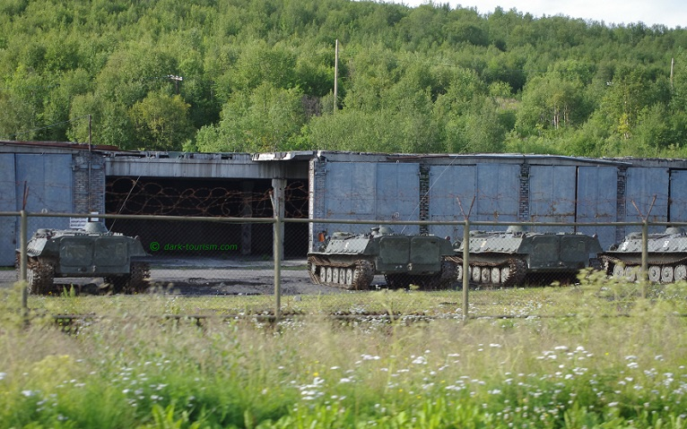 30 05 17   Russian military gear in the Pasvik border area near Norway