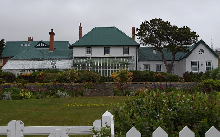 02 04 2018   Government House, Stanley, Falklands