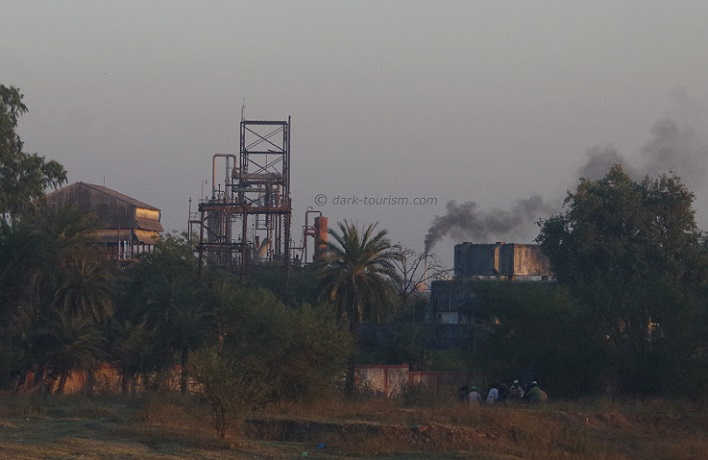 03 12 2018   abandoned Union Carbide chemical plant in Bhopal