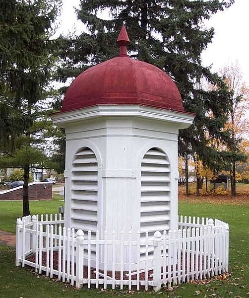 18 05 2018   Photograph of Cupola from Bath, Michigan Consolidated School