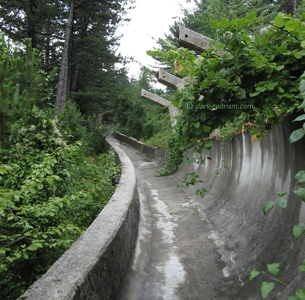 20 02 2018   former Olympic bobsleigh course, Sarajevo