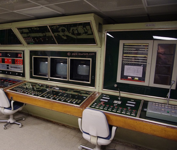 29 01 2018   1970s technology at Marienthal government bunker