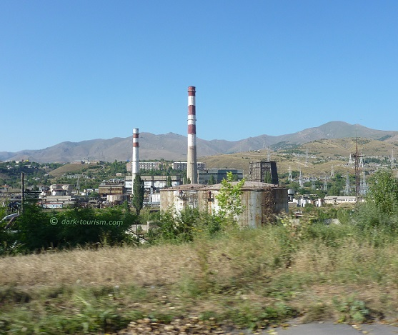 04 03 2020   old chemical weapons factory in Vanadzor, Armenia