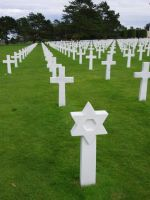D-Day Tour 29 - also Jewish Stars of David