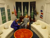 Caen Memorial 35 - model of the Oval Office