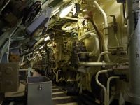 Le Redoutable 24 - upper deck of the missile tubes section
