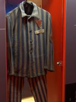 La Coupole 26 - concentration camp inmate clothes