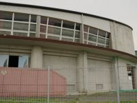 Fukushima 63 - you can still see the waterline on the upper floor