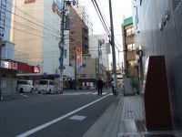 Hiroshima 02 - street with hypocentre marker