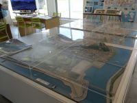 Ishinomaki 03 - model of the city after reconstruction