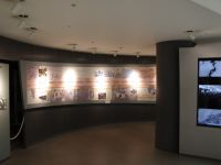 Nagasaki Atomic Bomb Museum 14 - pre-history section and timeline