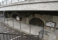 WWII tunnels 1 - under a fly-over road