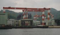Nagasaki 28 - present-day shipyards