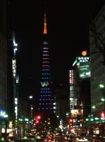 Tokyo 14 - Roppongi and Tokyo Tower by night