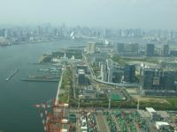 Tokyo 19 - harbour and skyline