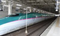 Japan 03c- shinkansen, newest and fastest type