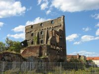 Gdansk 17 - Granary island war ruin in 2008
