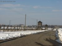 Majdanek 02 - fence and watchtowers