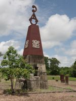 Moiwana 5 - main central monument