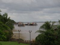 Fort Zeelandia 16 - view north over the Suriname River