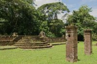 Suriname 18 - synagogue ruins